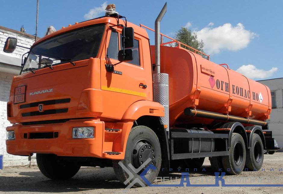 АТЗ 15 на КАМАЗ 65111