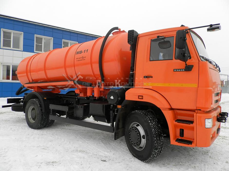 МВ-11 КАМАЗ 53605