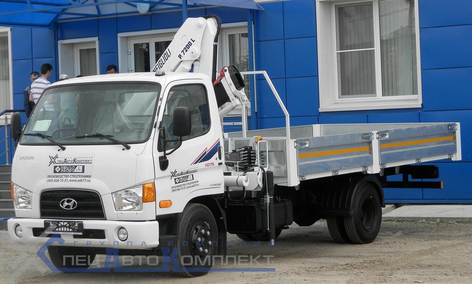 КМУ Hyundai HD 78