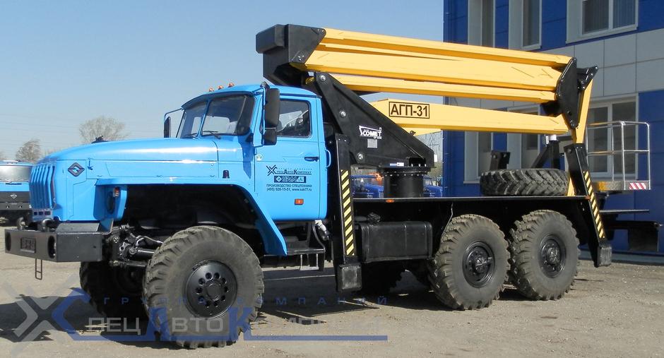 АГП 31 Урал 4320