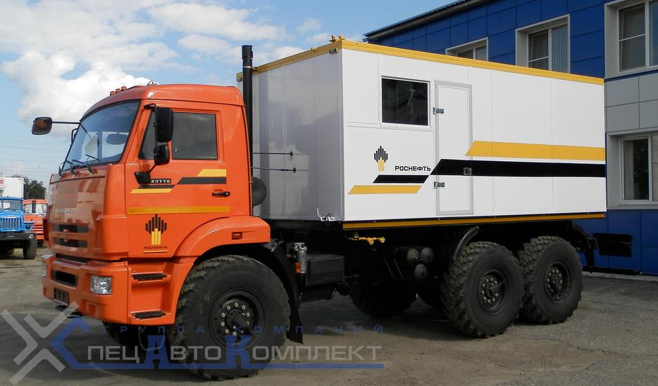 ППУА 1600/100 на КАМАЗ