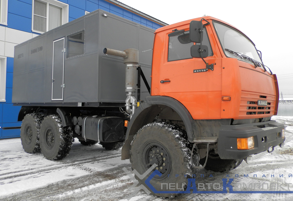 ППУА 1800/100 на КАМАЗ