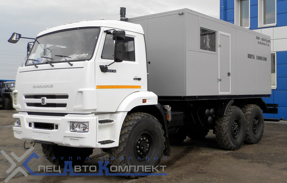 ППУА-1600/100 М на КАМАЗ