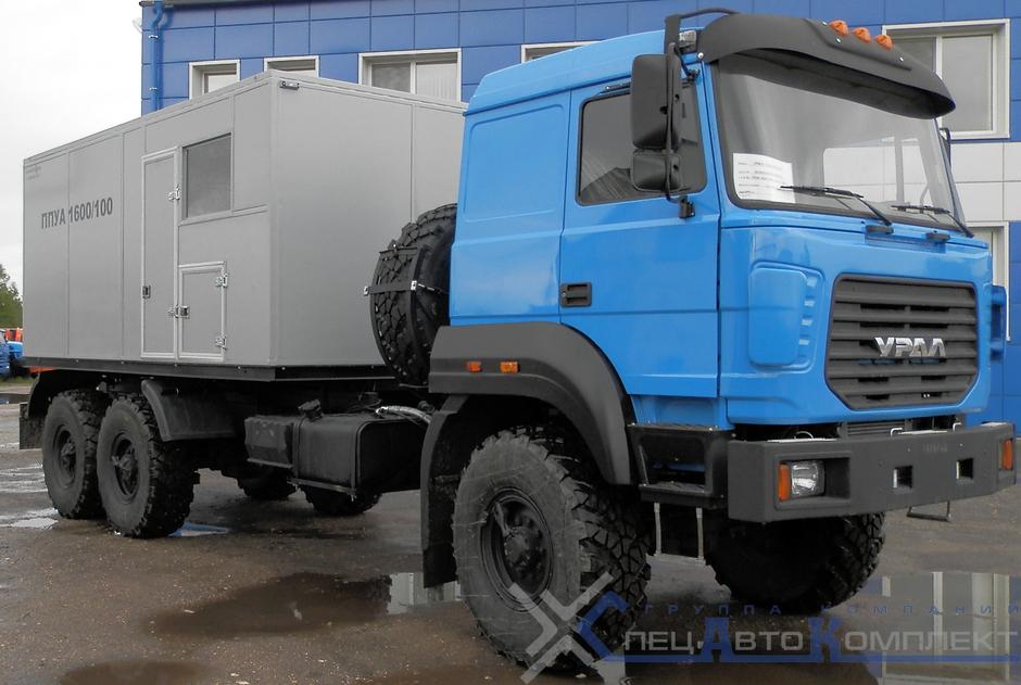 ППУА 1600/100 на УРАЛ