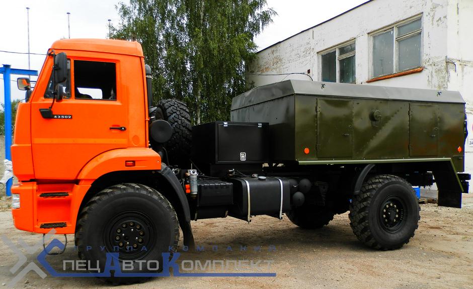 УМП 350 на шасси КАМАЗ