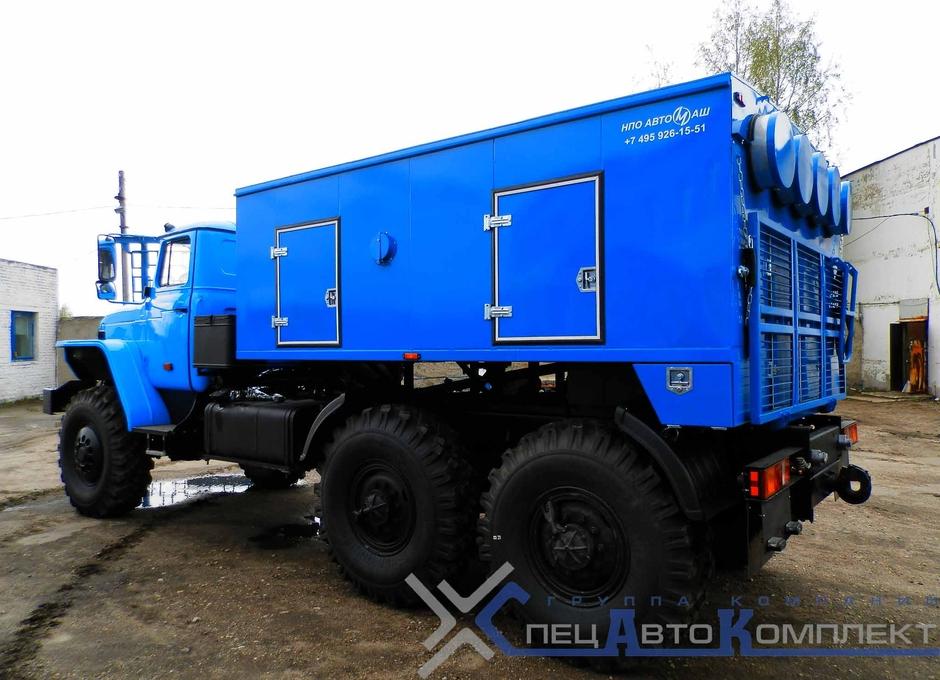 УМП 400 на шасси Урал