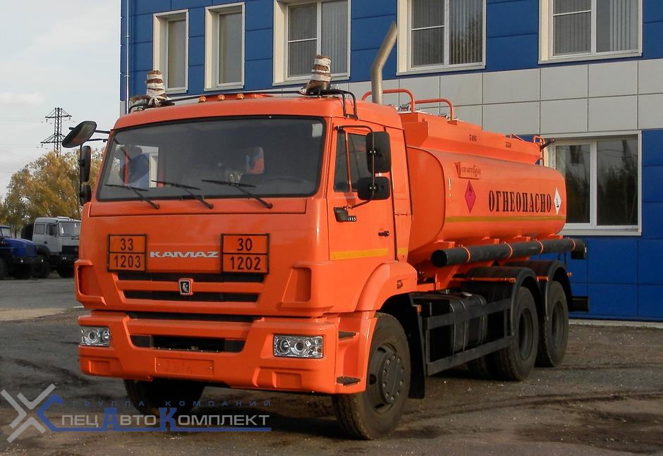АТЗ 12 на КАМАЗ 65115